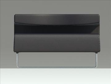 lowseat leather composition 3d model 3ds max fbx obj 91557