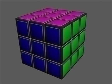 burvju kubs 3d modelis 3ds max 82228