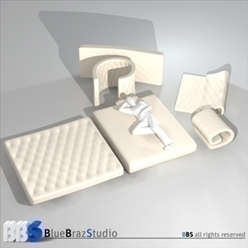 mattresses 3d model 3ds dxf c4d obj 107047