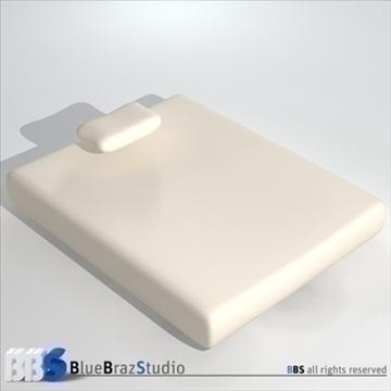 mattresses 3d model 3ds dxf c4d obj 107049