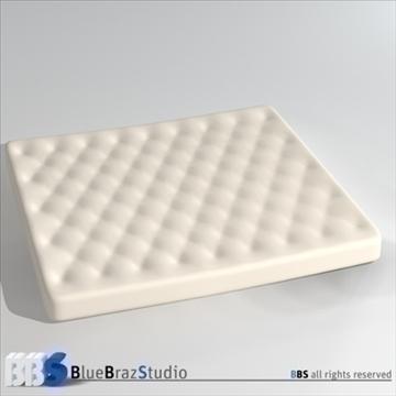 mattresses 3d model 3ds dxf c4d obj 107050