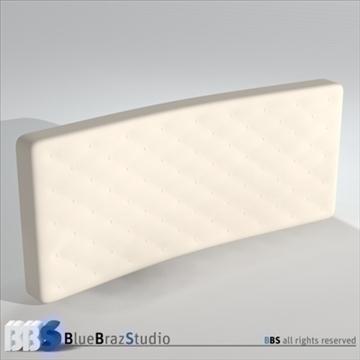 mattresses 3d model 3ds dxf c4d obj 107052
