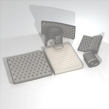 mattresses 3d model 3ds dxf c4d obj 107055