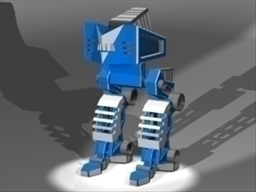 mech rig 3d model 3ds 81175