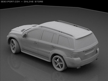 mercedes gl 420 bluetec 3d model max 106435