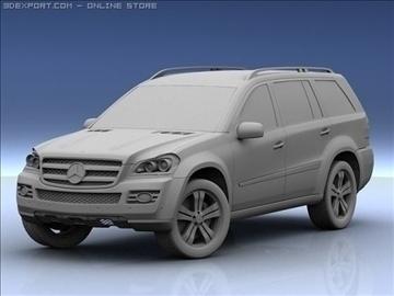 mercedes gl 450 3d model max 106429