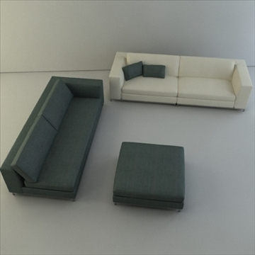 minotti albers collection 3d model 3ds max texture 110858
