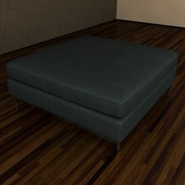 minotti albers collection 3d model 3ds max texture 110862