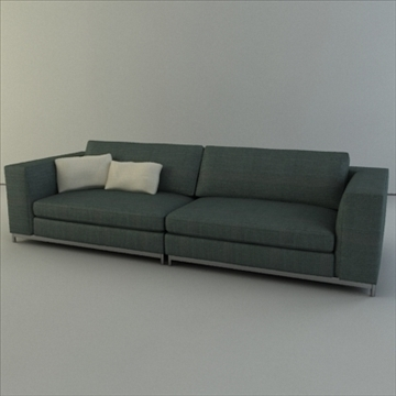 minotti albers collection 3d model 3ds max texture 110863