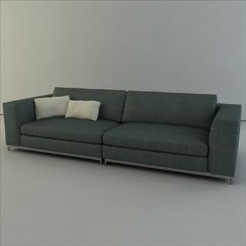minotti albers цуглуулга 3d загвар 3ds max texture 110863