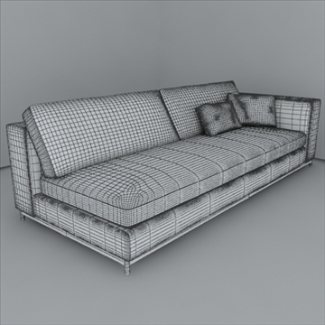 minotti albers collection 3d model 3ds max texture 110864