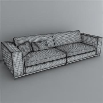 minotti albers collection 3d model 3ds max texture 110865