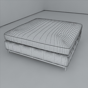 minotti albers collection 3d model 3ds max texture 110866