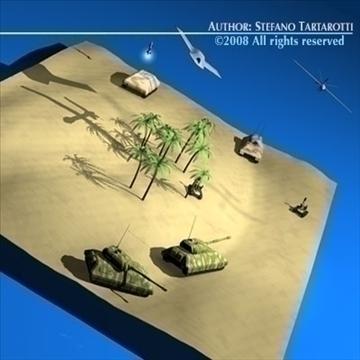 modern warfare scenario 3d model 3ds dxf c4d obj 88368
