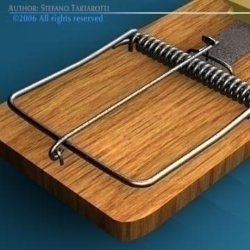 mousetrap 3d model 3ds c4d obj 77766
