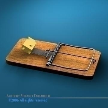 mousetrap 3d model 3ds c4d obj 77768