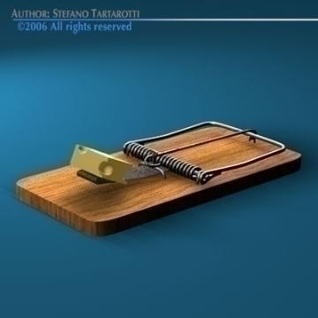 mousetrap 3d model 3ds c4d obj 77769