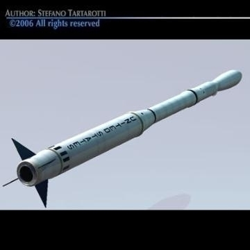 nasa scout rocket 3d model 3ds obj other 78875