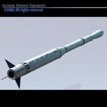 Nasa Scout rocket ( 25.5KB jpg by tartino )