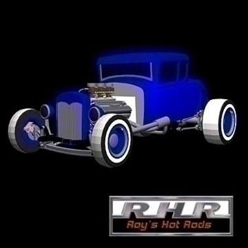 nostalgia hot rod coupe 3d model lwo 82082