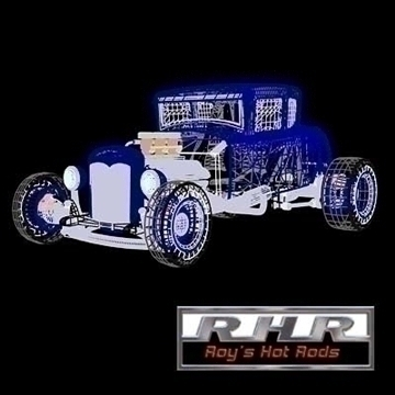 nostalgia hot rod coupe 3d model lwo 82083