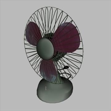 old fan 3d model 3ds 97462