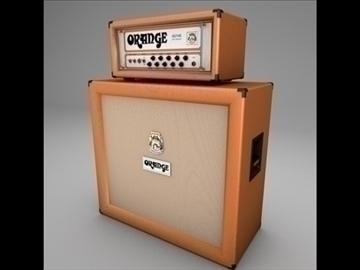 orange ad140 amp kalahati stack 3d modelo 3ds dxf fbx c4d x obj 85445