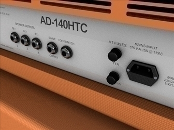 orange AD140 amp half stack