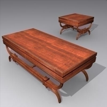 ornamental table_max 3d model 3ds max fbx cob c4d lwo obj 89429
