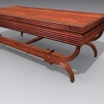 ornamental table_max 3d model 3ds max fbx cob c4d lwo obj 89432