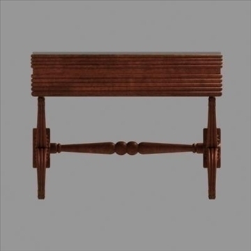 ornamental table_max 3d model 3ds max fbx cob c4d lwo obj 89435