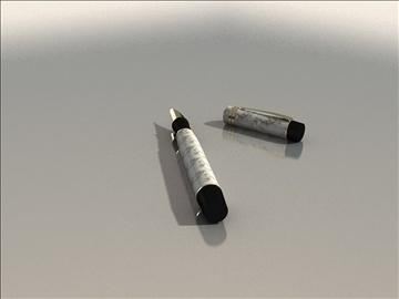 parker pen duo 3d model max 79418