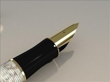 parker pen duo 3d model max 79420