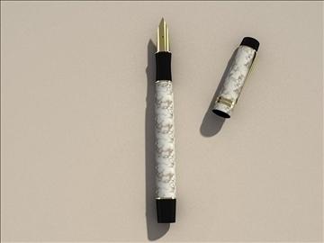 parker pen duo 3d model max 79421