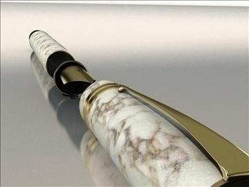 parker pen duo 3d model max 79422