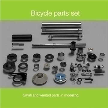 parts for modeling set-1 3d model max 96643