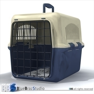 pet cage 2 3d model 3ds dxf c4d obj 111578