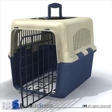 pet cage 2 3d model 3ds dxf c4d obj 111579
