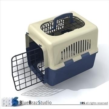pet cage 2 3d model 3ds dxf c4d obj 111580