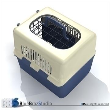 pet cage 2 3d model 3ds dxf c4d obj 111581