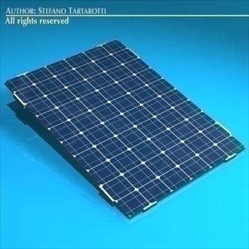 Photovoltaic module 3d model 3ds dxf c4d obj 98224