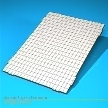 Photovoltaic module 3d model 3ds dxf c4d obj 98226