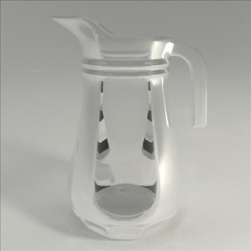 pitcher 3d model 3ds blend obj 104292