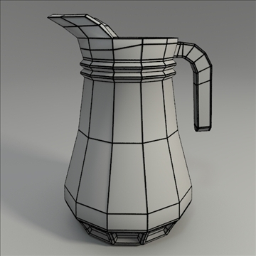 pitcher 3d model 3ds blend obj 104293