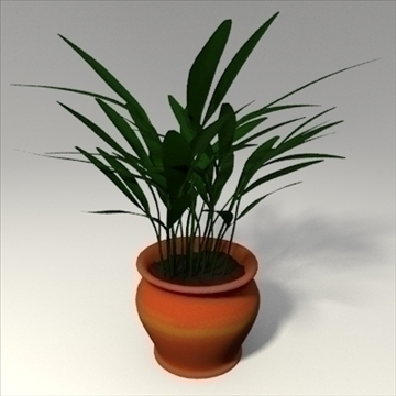 planta 3d model 3ds barreja obj 103687