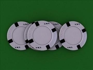 poker chip set 3d model max 84156