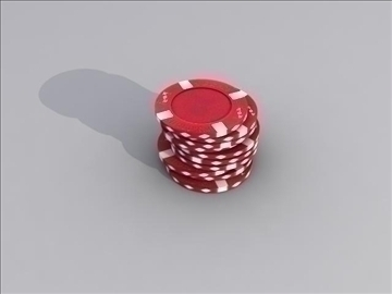 poker chip set 3d model max 84157