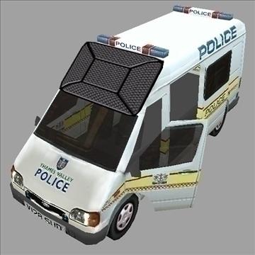 policijas pārvadātājs 3d modelis 3ds max fbx lwo ma mb hrc xsi obj 99360