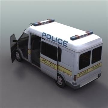 policijas pārvadātājs 3d modelis 3ds max fbx lwo ma mb hrc xsi obj 99364