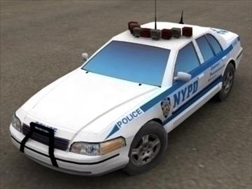 police patrol car 3dsmax 3d model 3ds max fbx lwo ma mb hrc xsi texture wrl wrz obj 99224